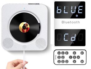 Portable Bluetooth CD Music Player