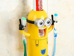 Minion-Shaped Toothbrush Holder best price