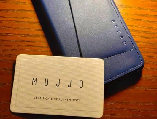 Mujjo Case for iPhone XS photo