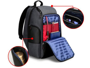 Unisex Pack Charging Port Travel Backpack
