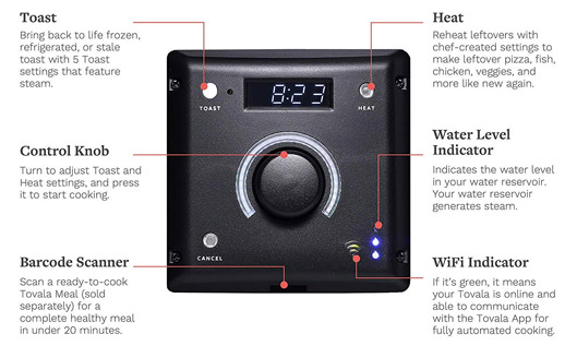 App Control Automatic Smart Steam Oven