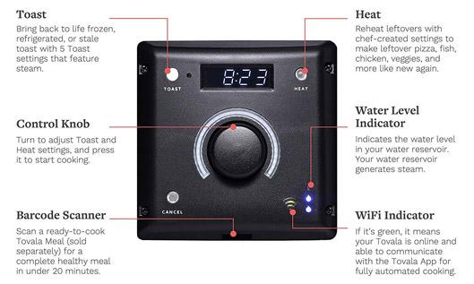 App Control Automatic Smart Steam Oven