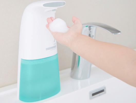 Dish and Hand Washing Foam Soap Dispenser