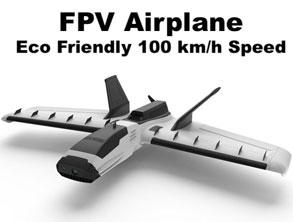 Eco Friendly RC FPV Airplane