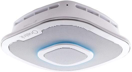 Alexa Enabled Speaker With Smoke Detector