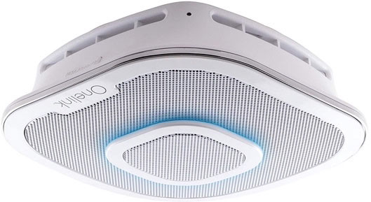 Alexa Enabled Speaker With Smoke Detector