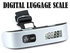 Luggage Scale With Digital Screen