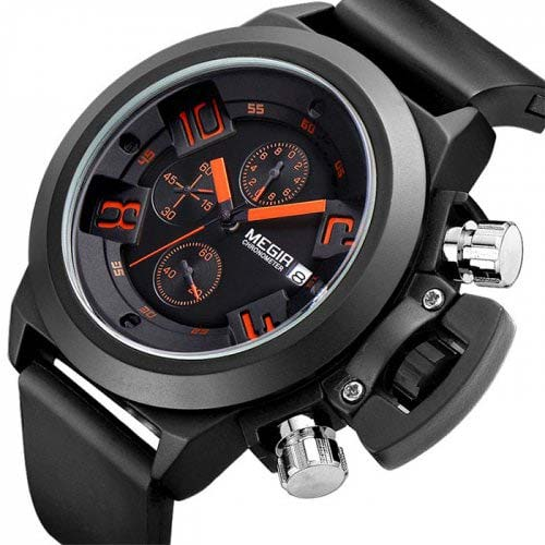 MEGIR 2002 Quartz Men Watch