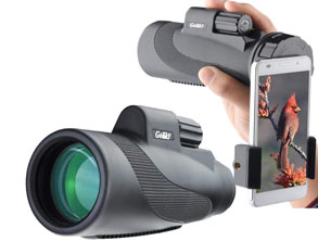 Monocular With Phone Holder