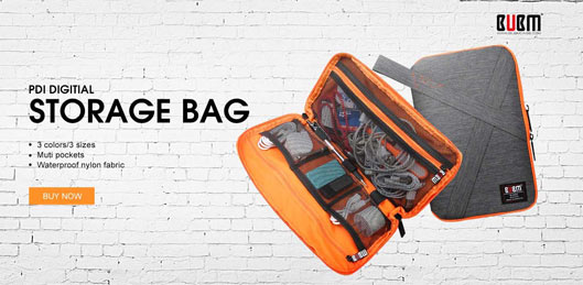 Bag for Mobile Accessories orange
