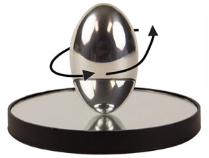 Ellipsoid Spinning Physics Egg-Toy