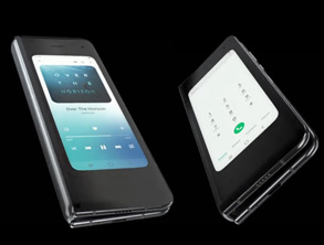 First Commercial Foldable Smartphone