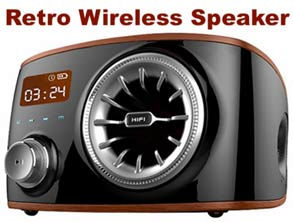 Real Retro Wireless Speaker