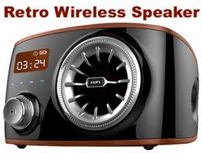 Real Retro Wireless Speaker