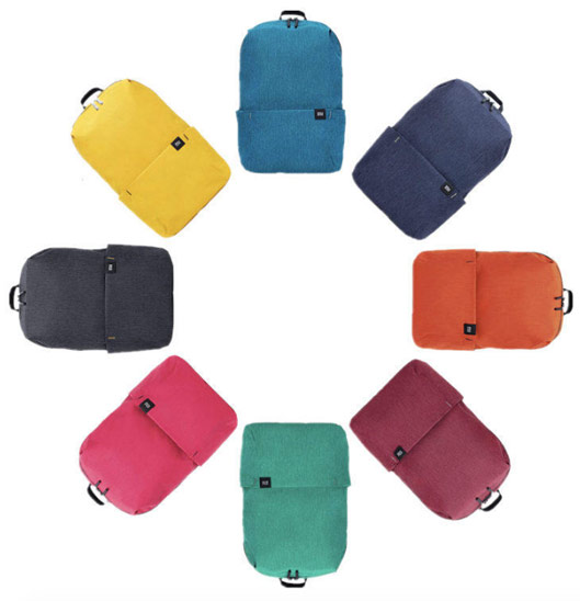 Colorful Simple Daily Backpack wide range