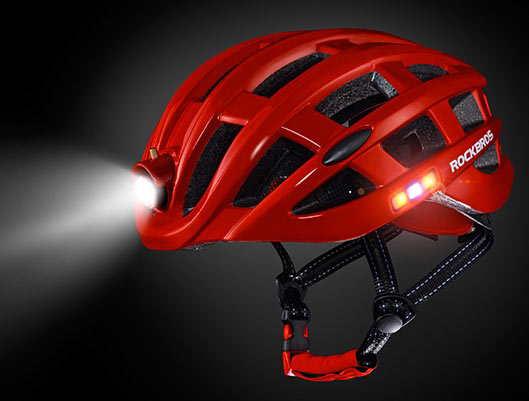 Helmet With LED
