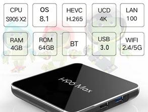 Smart TV Box H96 MAX X2