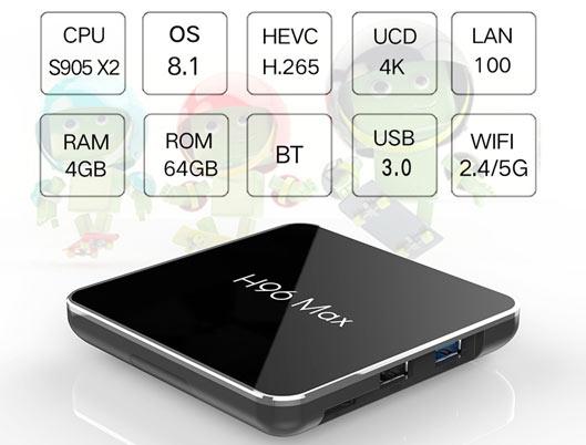 TV Box H96 MAX X2