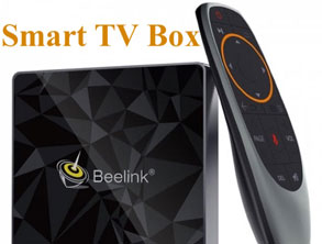 Smart TV Box With rc
