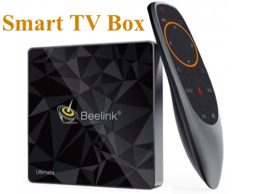 best Smart TV Box With rc