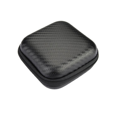 Square Carrying Storage Bag Case For Earphone Cable
