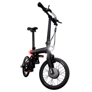 Buy best Smart Xiaomi EF1 electric bicycles, foldable and ergonomic Qicycle E-bike, easy to carry, not heavy, high speed.