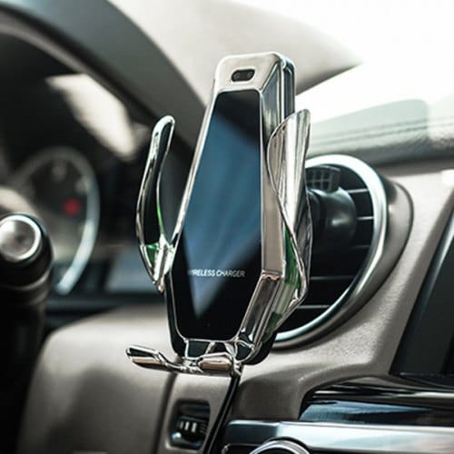 Futuristic Car Charger Phone Holder