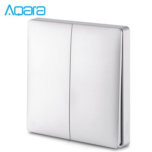 Aqara Smart Home Wall Switch Double Key Intelligent Light Control
