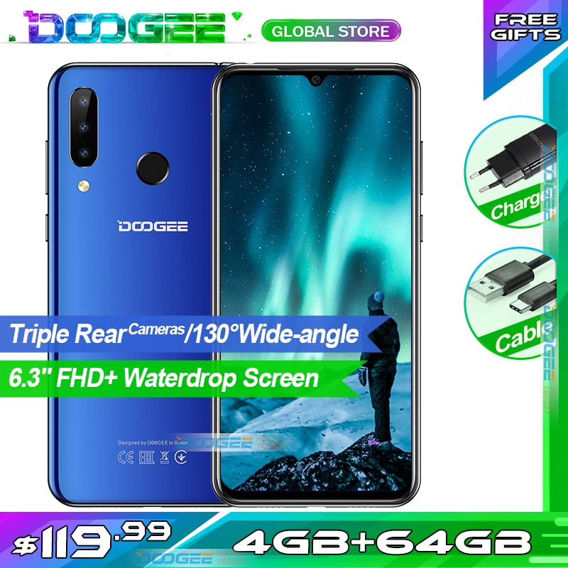 DOOGEE N20 Waterdrop FHD+ Screen Android 9.0 Smartphone
