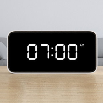 Voice Control Weather Broadcast Xiaomi Smart Table Clock, White Color