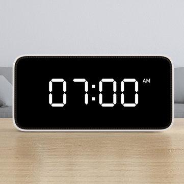 Voice Control Weather Broadcast Xiaomi Smart Table Clock, White Color
