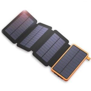 Waterproof Portable Folding Solar Panel Power Bank