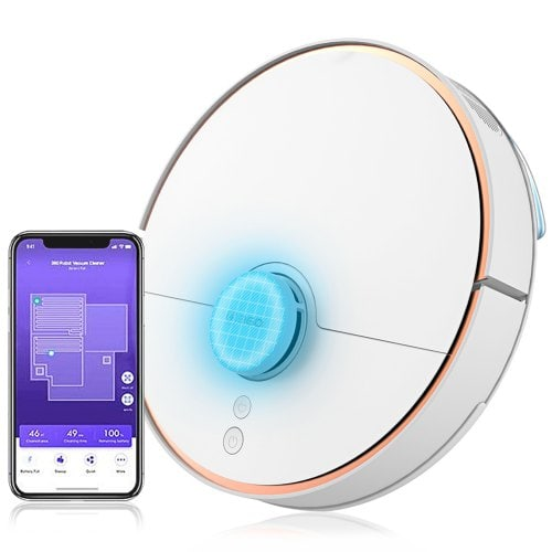 360 S7 Smart Sensor Robot Vacuum Cleaner