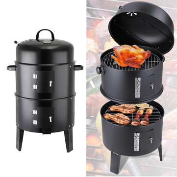 Camping Charcoal Cooking BBQ Grill
