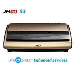 JmGO S3 3D Ultra Short Focus Smart Home Theatre Laser Projector
