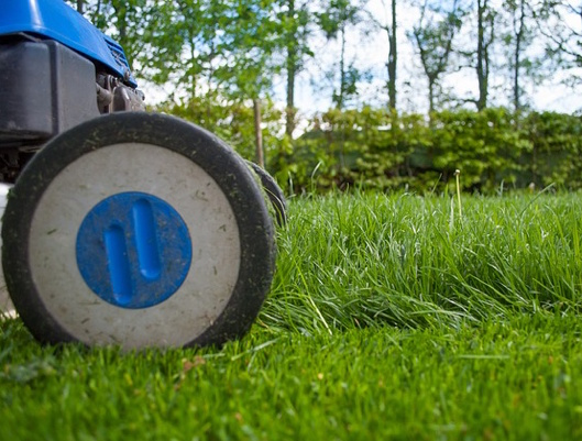 Cordless GreenWorks G-Max Lawn Mower