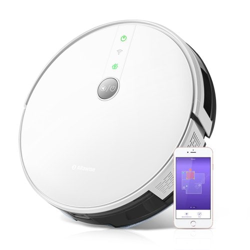 Alfawise V8S PRO Alexa Voice Robotic Mop & Vacuum Cleaner