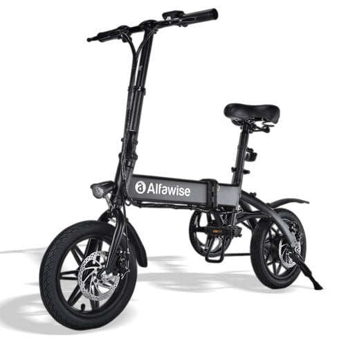 Alfawise X1 Foldable Moped Bicycle Multi-modes Smart Electric Bike