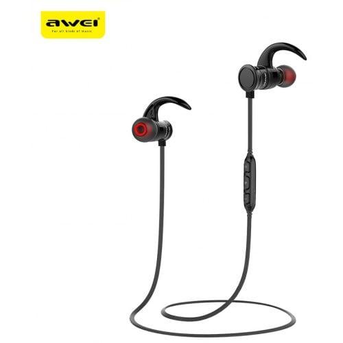AWEI AK5 Wireless Headset Sports Magnetic Waterproof HD Bass Earphone With Microphone