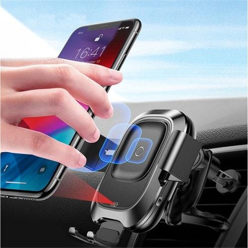 Baseus Car Qi Charger Smart Phone Holder