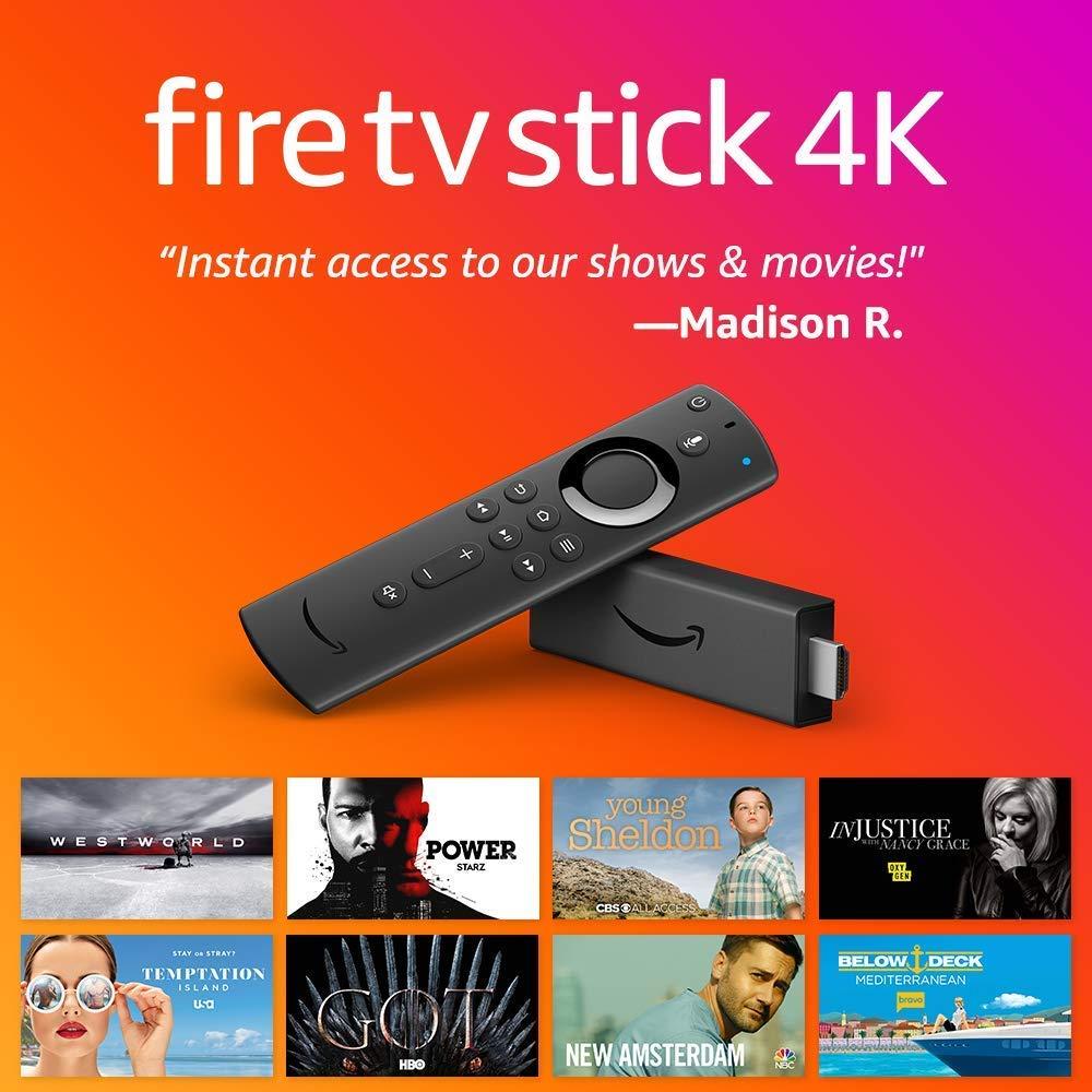 Fire TV Stick 4K Streaming Media Player