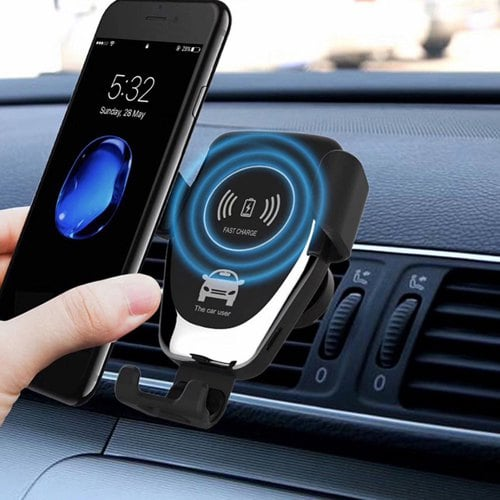 Automatic Charging Gocomma QI Charger Car Mount For Air Vent