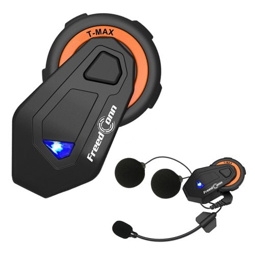 Gocomma Freedconn T-MAX Motorcycle Bluetooth Intercom Helmet Headset