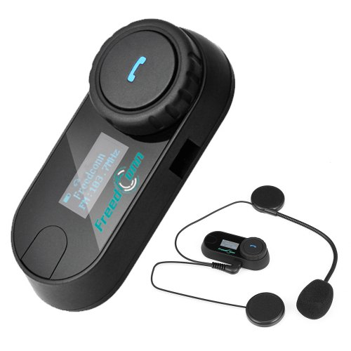 Gocomma TCOM-SC Bluetooth DSP Noise Reduction Motorcycle Intercom Helmet Headset