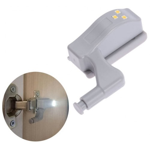 Cabinet Hinge LED Light Induction Closet Night Lamp