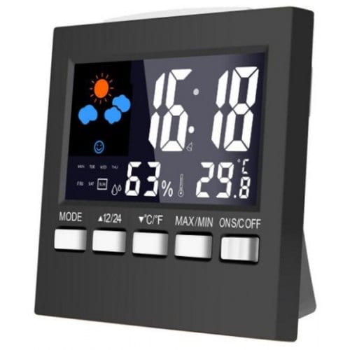 2159T Color Screen Weather Station Thermometer