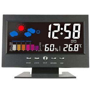 8082T Colorful Eye-pleasing Digital Weather Station shopping