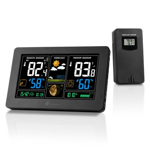 Houzetek PT3378 Accurate Forecasts Weather Station Accurate Weather And Humidity Forecasts