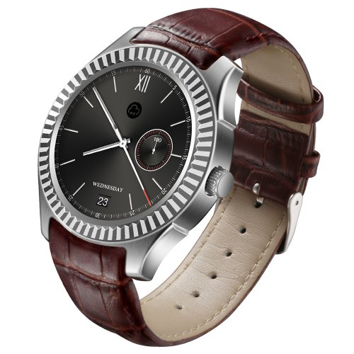 NO.1 D7W Functional Smart Watch With Leather Band