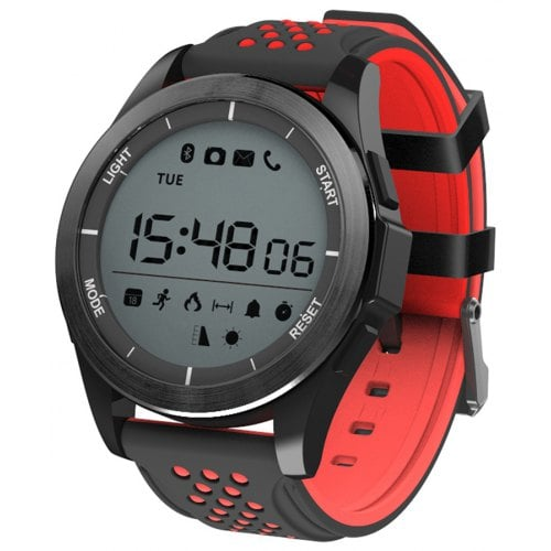 NO.1 F3 Waterproof Hiking Sports Smart Watch Rotatable Dial Fitness Tracker Smartwatch For Android iOS